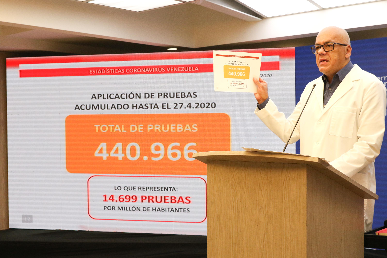 Venezuela registra cuatro nuevos casos de Covid-19