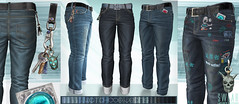 L&B MENS WATCHDOG JEANS for FAMESHED : MAY