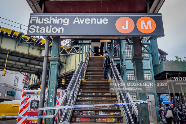 J and M subway line shutdown over suicide threat