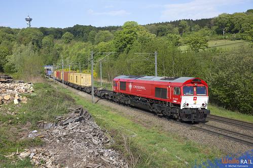 DE 6302 . Crossrail . Z 41596 . Gemmenich . 29.04.20.