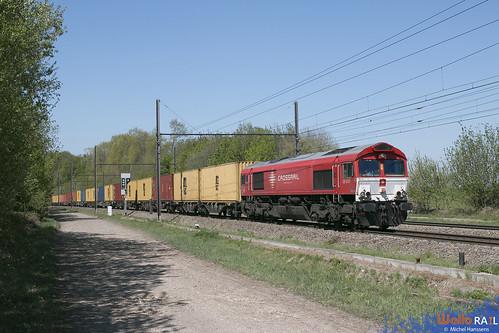 DE 6301 . Crossrail . Z 41531 . Rémersdael . 22.04.20.