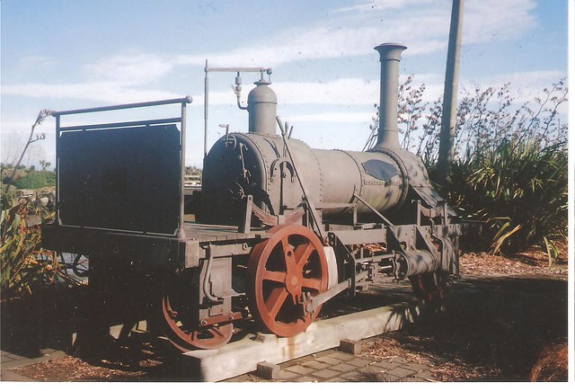 ' Lady Barkly' at Otematata, Invercargill - South Island. NZ.  Photograph by the late Merv Smith. A great person, radio presenter, railway affectionado and a great friend to me.