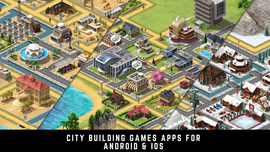 17 Free City Building Games Apps for Android & iOS