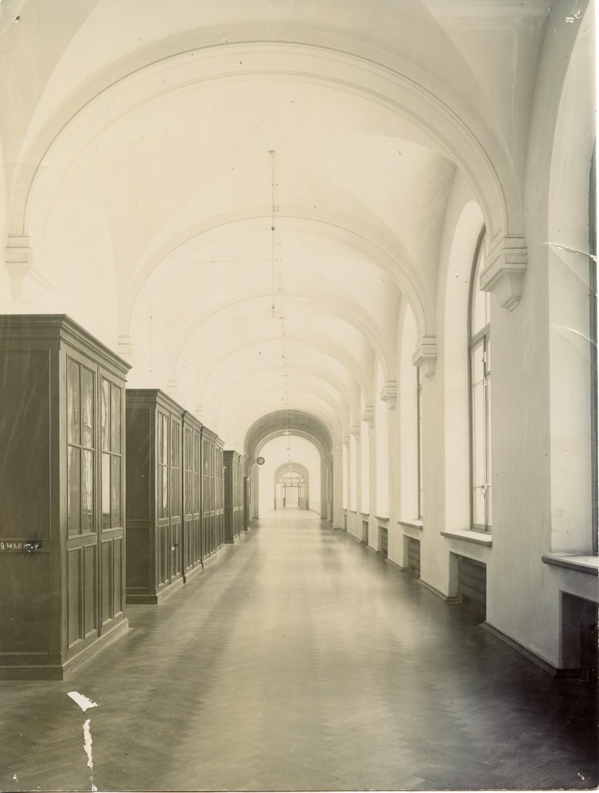 17. 1904. 8 марта. Коридор второго этажа главного здания