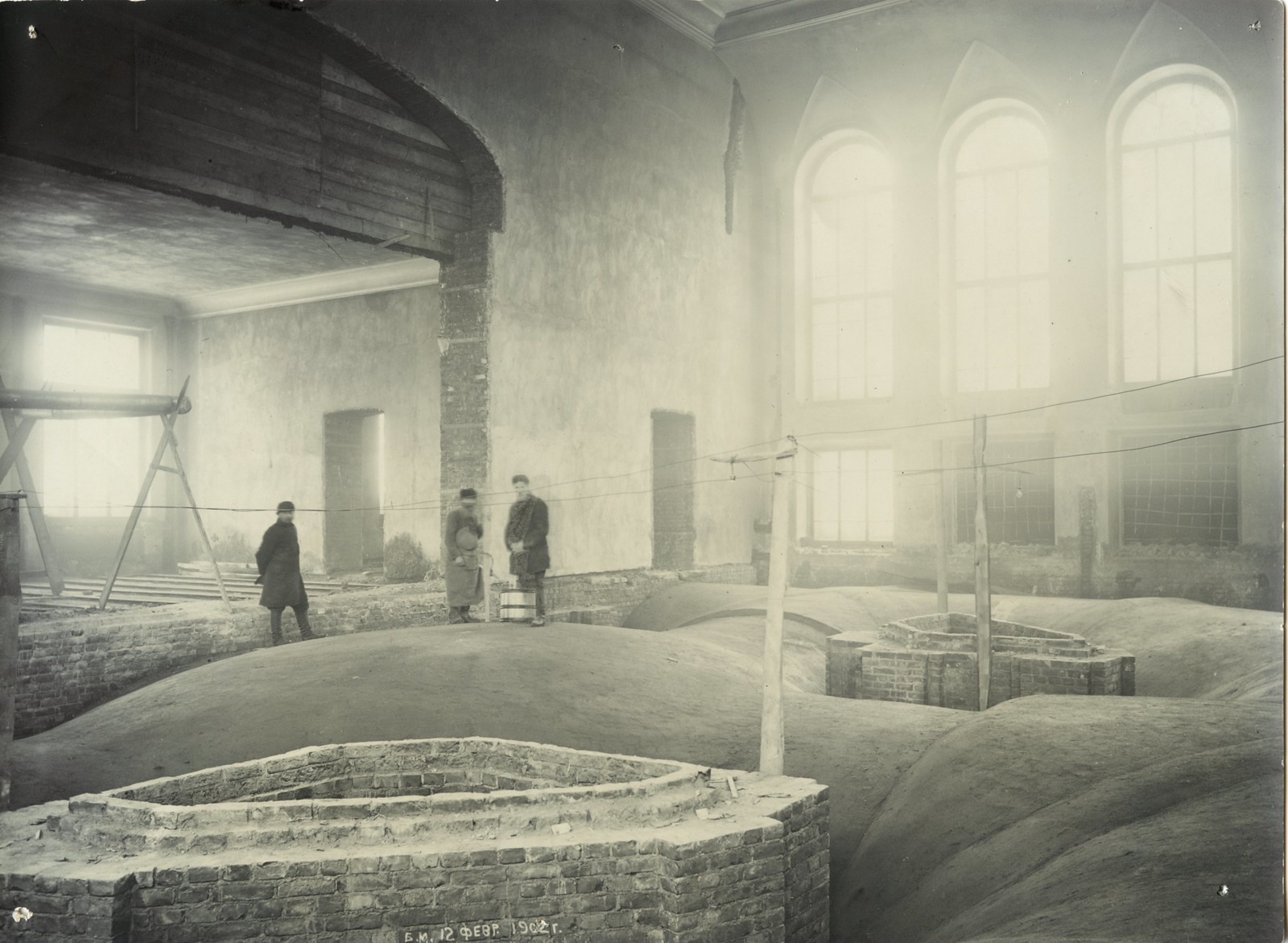 02. 1902. 12 февраля. Строительство большой физической аудитории.
