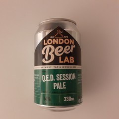 QED Session Pale Ale (330 ml can)
