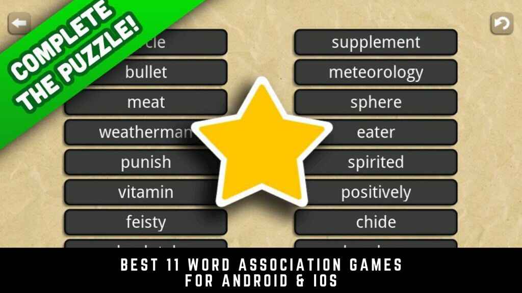 Best 11 word association games for Android & iOS
