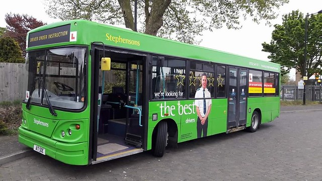 Stephensons training bus