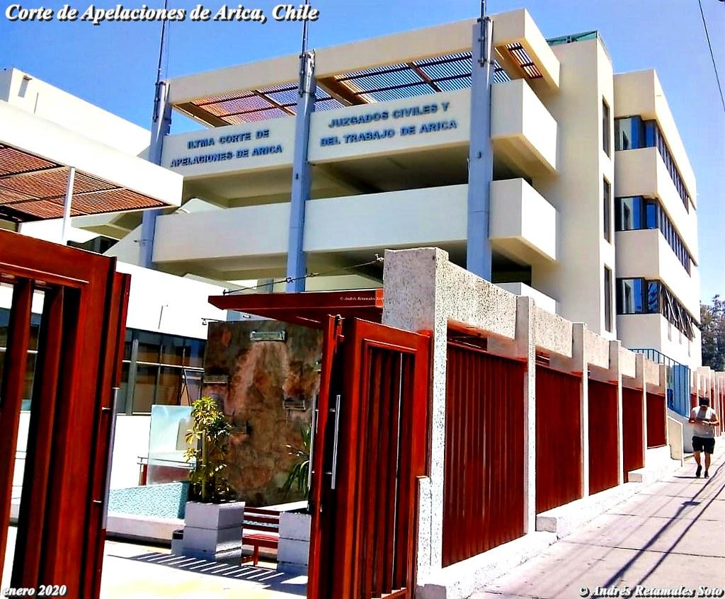 Corte de Apelaciones de Arica, Chile, enero 2020. ⚖️🆑 Andrés Retamales