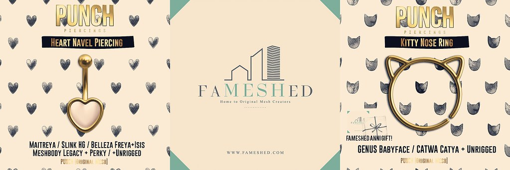 PUNCH @ FaMESHed Anniversary May 2020!