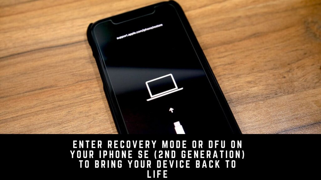 Enter Recovery Mode or DFU on your iPhone SE (2nd Generation) to Bring Your Device Back to Life