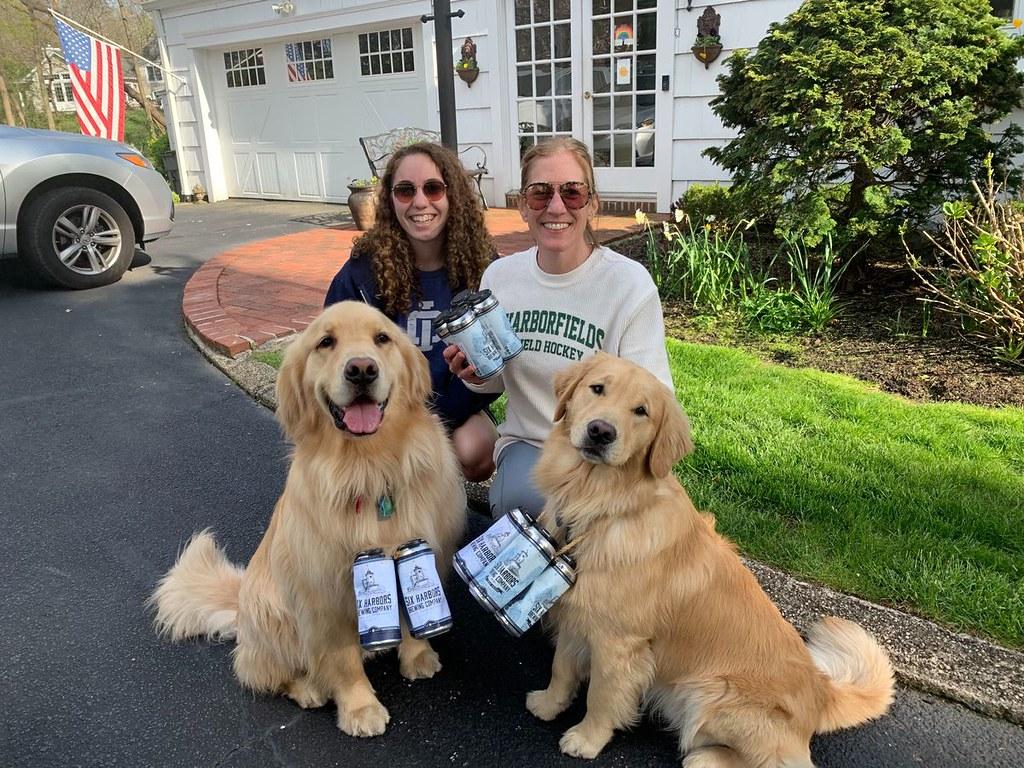 Из-за коронавируса в Нью-Йорке пиво доставляют собаки