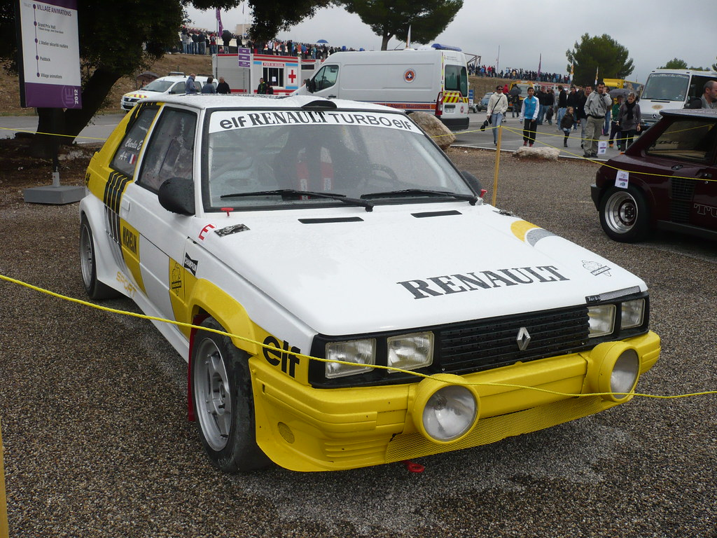 Renault 11 Turbo Groupe A Phase 1 Bis 1985 World Serie Flickr