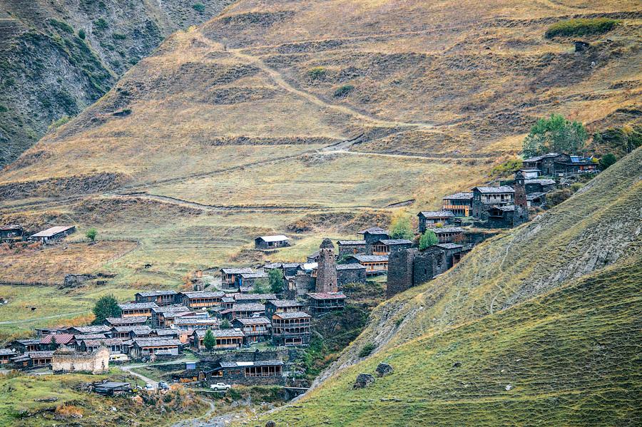 Село Дартло, Тушети