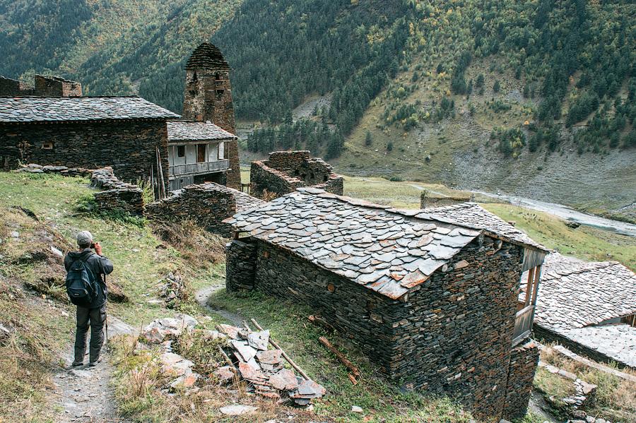 Село Дартло, Тушети, Грузия