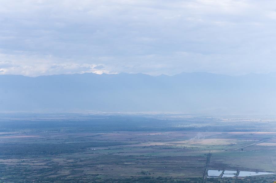 Вид на Алазанскую долину с Сигнахи