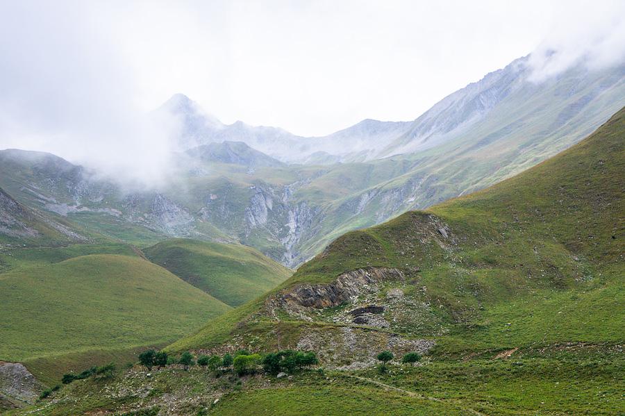 Предгорья Казбека, Грузия