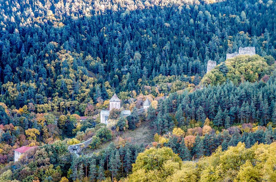 Монастырь Сапара, Грузия