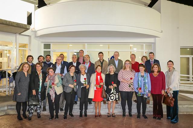Acto homenaje socios más 40 años antigüedad 2019