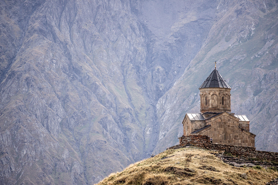 Троицкая церковь, Гергети
