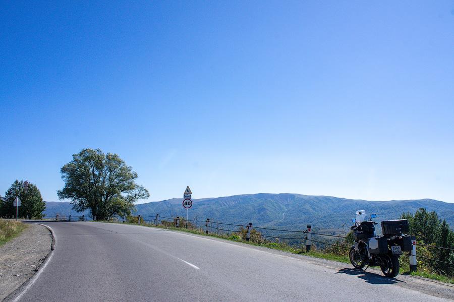 Дорога в Тушети из Телави