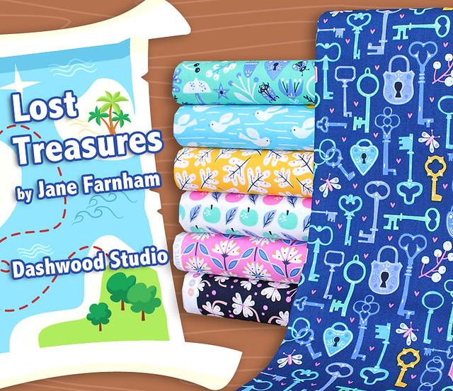 Dashwood Studio Lost Treasures Collection by Jane Farnham