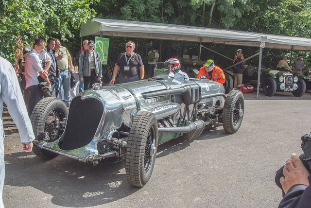 Napier Railton is an aero engined race car built in 1933 to a commission by John Cobb. In 1935 it set the all time record at Brooklands