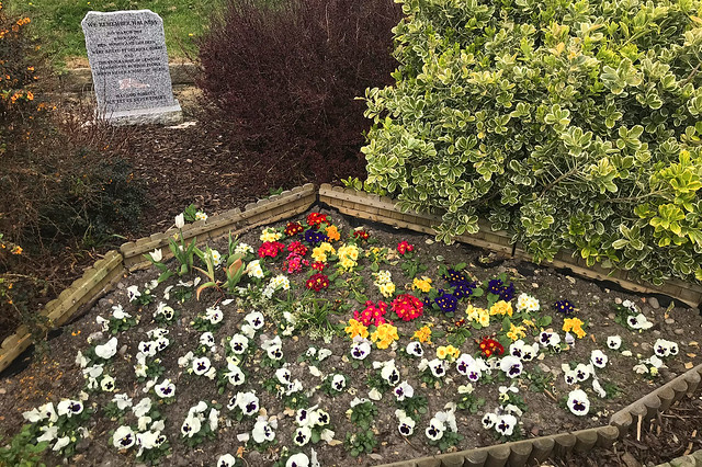 Halabia Memorial, Portsmouth, April 8th 2020