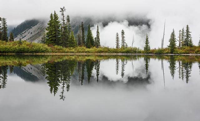 Morning Reflections - Bench Lake