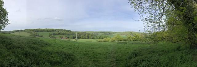 Lockdown walks, North Dean, Buckinghamshire - April 2020