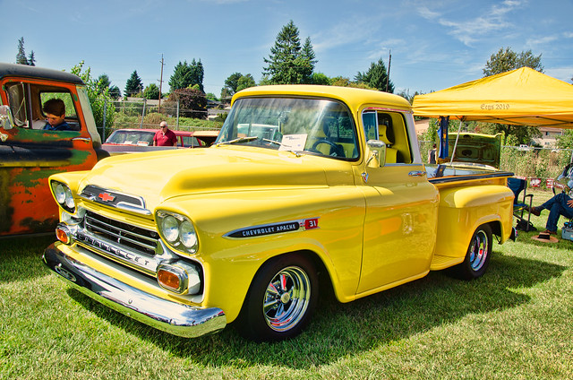 Yellow Chevy Apache 31