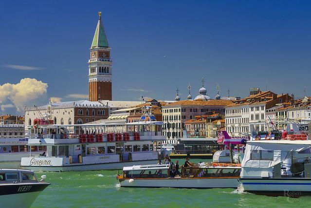 Bustling Venice Blue