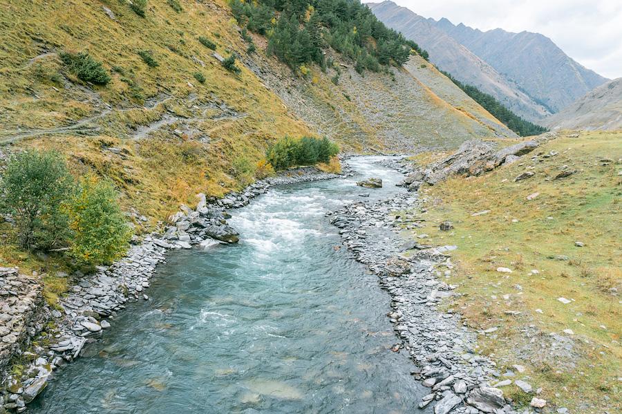 Река Алазани, Дартло