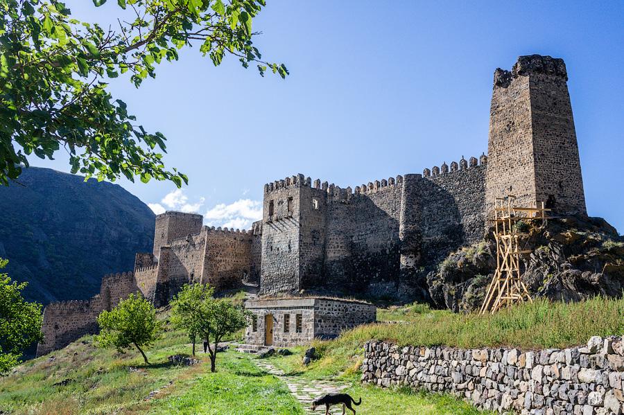 Крепость Хертвиси (Вардзия), Грузия