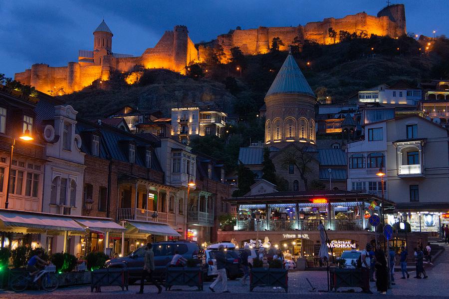 Крепость Нарикала, Тбилиси