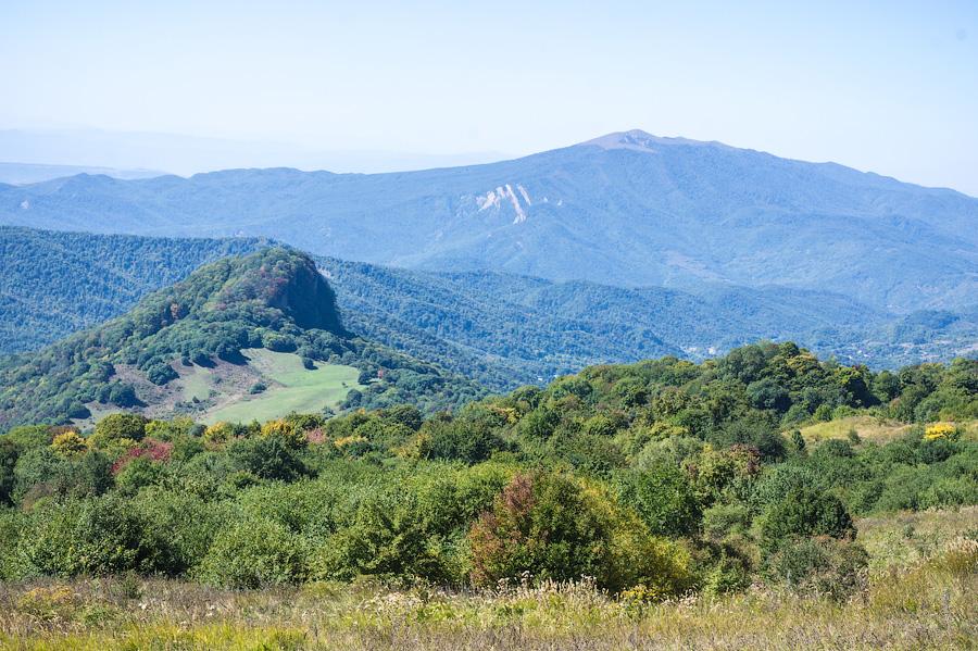 Алазанская долина, дорога в Тушети
