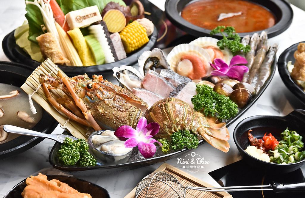 台中火鍋 嗑肉石鍋 中科美食 菜單21