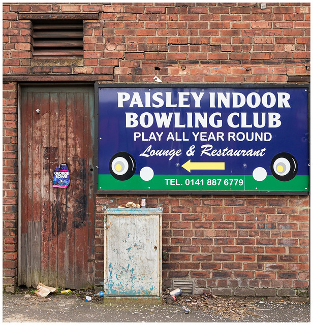 Indoor Bowling, Paisley