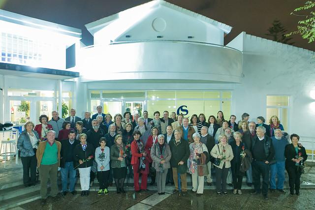 Acto homenaje socios más 40 años antigüedad 2016