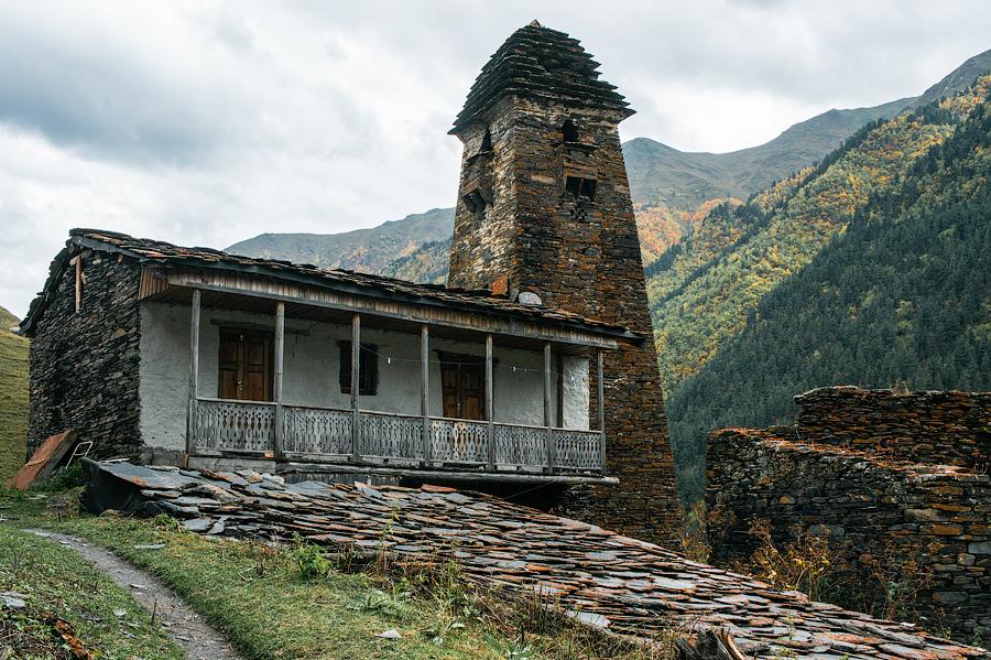 Башни Дартло и жилые дома