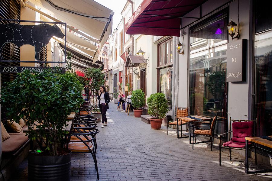 Туристический квартал Тбилиси