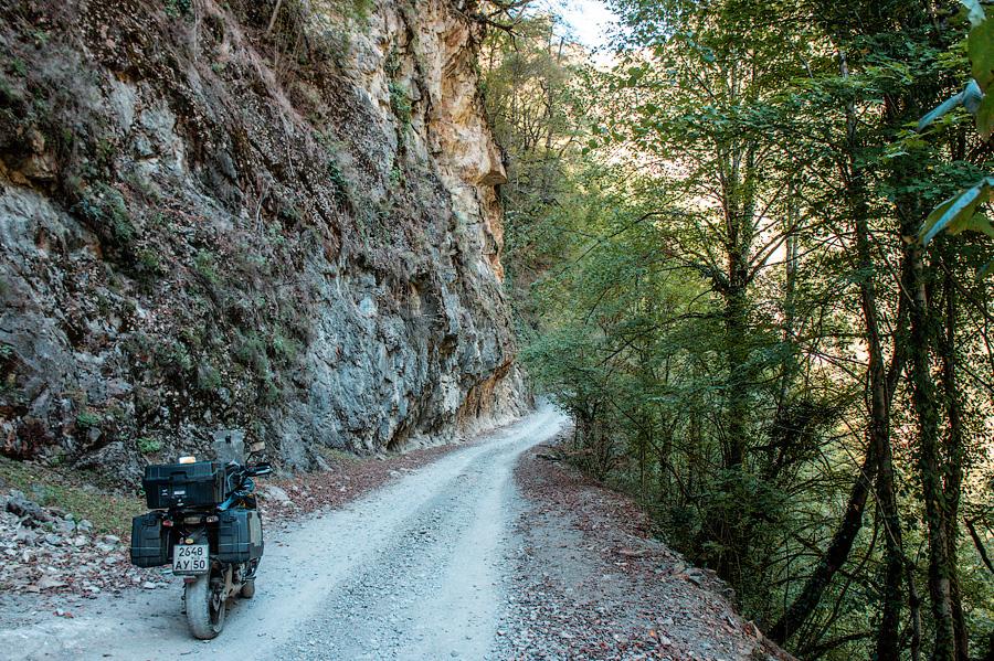 Начало настоящей дороги в Тушети
