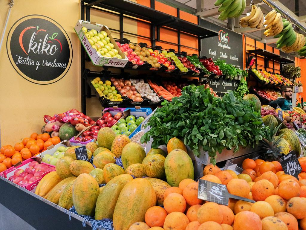Furtas en el mercado de La Laguna en Tenerife