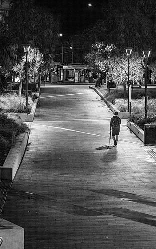 Lonely walk