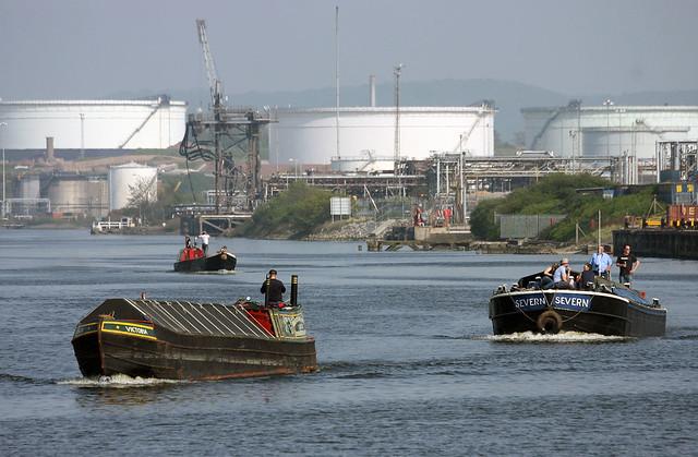 Ship canal antics