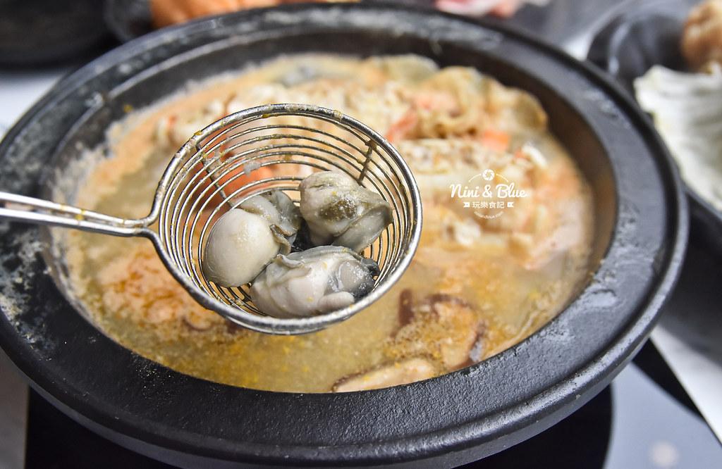 台中火鍋 嗑肉石鍋 中科美食 菜單46