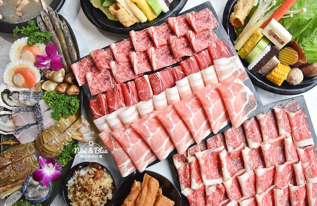 台中火鍋 嗑肉石鍋 中科美食 菜單31