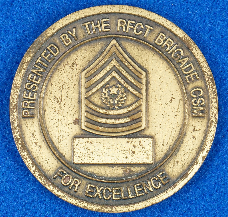 RD16192 1st Brigade 1st Armored Division Ready First Combat Team RFCT Challenge Coin DSC03269