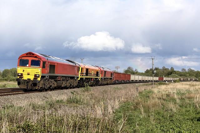 Freightliner 59204 + 59206 + 59205
