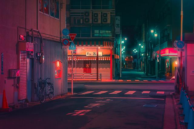 Deserted Japan Street